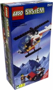 LEGO City Set #2531 Rescue Helicopter