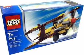 LEGO City Set #4778 Desert Biplane