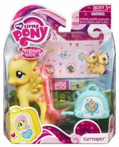 My Little Pony Figure Fluttershy with Suitcase