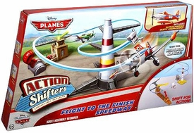 Disney PLANES Action Shifters Playset Flight to the Finish Speedway