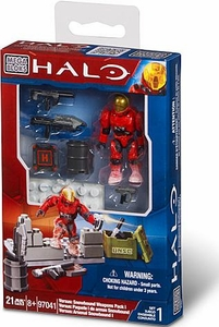Halo Mega Bloks Exclusive Set #97041 Versus: Snowbound Weapons Pack 1