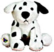 Lil'Kinz Dalmation Mini Plush Stuffed Animal