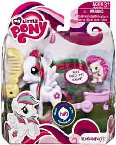 My Little Pony Basic Figure Blossomforth with Animal Friend