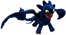 How to Train Your Dragon Movie 12 Inch Plush Figure Toothless Night Fury