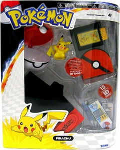 Pokemon TOMY Black & White Pokedex Training Kit with Pikachu Hot!