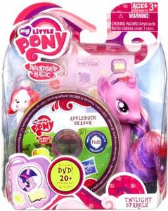 My Little Pony 2012 Figure Twilight Sparkle with Suitcase and DVD