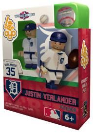 OYO Baseball MLB World Series Edition Building Brick Minifigure Justin Verlander [Detroit Tigers]