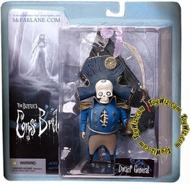 McFarlane Toys Corpse Bride Series 1 Action Figure Dwarf General Bonesapart