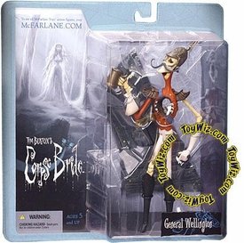 McFarlane Toys Corpse Bride Series 1 Action Figure General Wellington