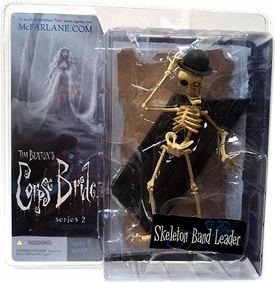 McFarlane Toys Corpse Bride Series 2 Action Figure Skeleton Band Leader