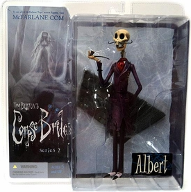 McFarlane Toys Corpse Bride Series 2 Action Figure Albert [Pipesmoker] BLOWOUT SALE!