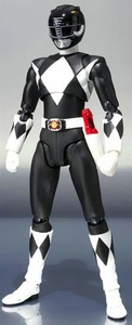 Mighty Morphin Power Rangers S.H. Figuarts Action Figure Black Ranger Pre-Order ships March