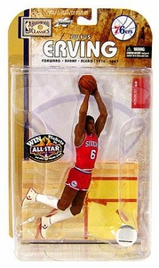 McFarlane Toys NBA Sports Picks Legends Series 4 Action Figure Julius Erving (Philadelphia 76ers)