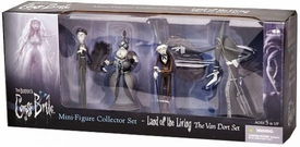Corpse Bride McFarlane Toys Mini PVC Figures Land of the Living 1 [Van Dort Set]