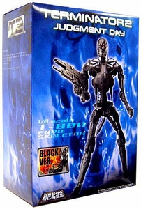 Aoshima Terminator 2: Judgement Day 1/6 Scale Model T-800 Endoskeleton [Black Version]