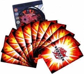 Bakugan Battle Brawlers Game Lot of 10 RANDOM Cards Plus 1 BONUS Random Foil Card [Total of 11 Cards!]