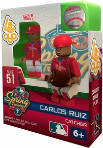 OYO Baseball MLB Building Brick Minifigure Spring Training Carlos Ruiz [Philadelphia Phillies]