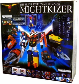 Brave Fighter Takara Brave Revival Legend Deluxe Figure The Brave Express Mightgaine Mightkizer