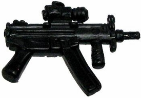 GI Joe 3 3/4 Inch LOOSE Action Figure Accessory Black MP5 with Foregrip & Sight