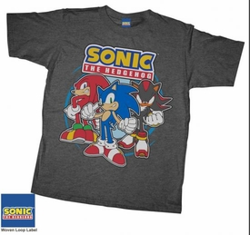 Sonic the Hedgehog Youth T-Shirt Sonic Posse