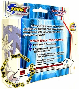Sonic X Card Game Starter Deck