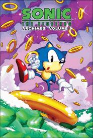 Sonic Comic Book Sonic the Hedgehog Archives Volume 9
