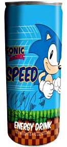 Energy Drink Sonic the Hedgehog Speed