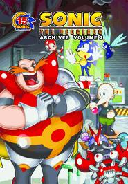 Sonic Comic Book Sonic the Hedgehog Archives Volume 2