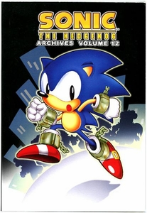 Sonic Comic Book Sonic the Hedgehog Archives Volume 12