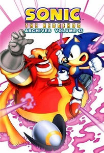 Sonic Comic Book Sonic the Hedgehog Archives Volume 13