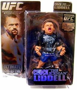 Round 5 UFC Ultimate Collector Series 1 LIMITED EDITION Action Figure Chuck Liddell Only 3,000 Made!