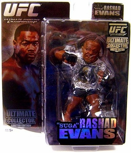 Round 5 UFC Ultimate Collector Series 1 LIMITED EDITION Action Figure Rashad Evans Only 1,000 Made!