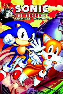 Sonic Comic Book Sonic the Hedgehog Archives Volume 14
