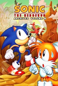Sonic Comic Book Sonic the Hedgehog Archives Volume 16