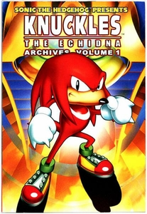 Sonic Comic Book Knuckles the Echidna Archives Volume 1