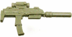 GI Joe 3 3/4 Inch LOOSE Action Figure Accessory Dark Tan Silenced Uzi