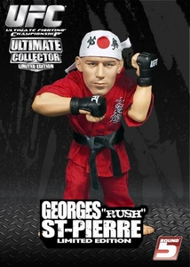 Round 5 UFC Ultimate Collector Series 1 LIMITED EDITION Action Figure Georges St. Pierre LOOSE - No Package!