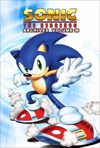 Sonic Comic Book Sonic the Hedgehog Archives Volume 19