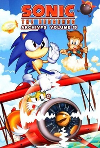 Sonic Comic Book Sonic the Hedgehog Archives Volume 15