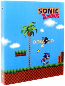 Sonic the Hedgehog 3 Ring Binder Classic Sonic Green Hill Zone