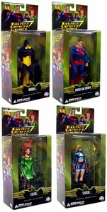 DC Direct Justice Society of America Series 2 Set of 4 Action Figures [Cyclone, Hourman, Superman & Stargirl]