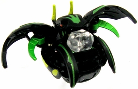 Bakugan Super Assault Single Figure Darkon [Black] BakuChance {Includes Clear Die!} [Dice Thrower!]