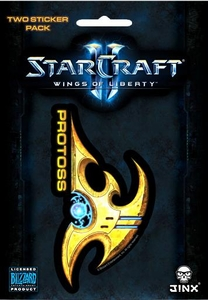 Starcraft II Sticker Protoss
