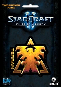 Starcraft II Sticker Terran