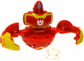 Bakugan Super Assault LOOSE Single Figure Pyrus Nova 12 [Red] Merlix with Die [Dice Thrower!] 950 G