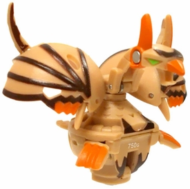 Bakugan Super Assault Single Figure Sub Terra [Brown] BakuClone [Spinner!] 750 G