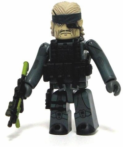 Medicom Kubrick Metal Gear Solid 20th Anniversary Collector's Edition Mini Figure Solid Snake [Guns of the Patriots]