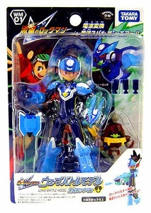 Mega Man Rockman Star Force Takara Wave Battle DX Action Figure WM-01 Mega Man