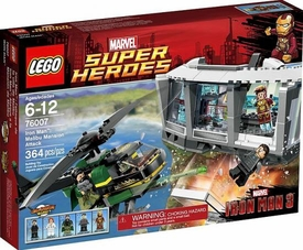 LEGO Marvel Super Heroes Set #76007 Iron Man: Malibu Mansion Attack