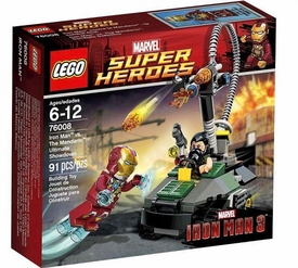LEGO Marvel Super Heroes Set #76008 Iron Man vs. The Mandarin: Ultimate Showdown